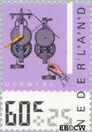 Nederland NL 1349  1986 Meetinstrumenten 60+25 cent  Gestempeld