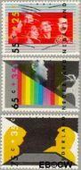 Nederland NL 1363#1365  1986 Vaardigheden  cent  Postfris