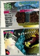Nederland NL 1368#1369  1987 Diversen  cent  Postfris