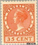 Nederland NL 138  1924 Koningin Wilhelmina- Type 'Veth' 35 cent  Gestempeld