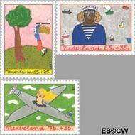 Nederland NL 1387#1389  1987 Beroepen  cent  Postfris