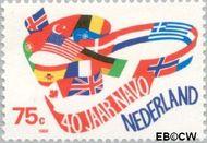 Nederland NL 1423  1989 N.A.V.O. 75 cent  Gestempeld