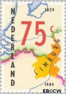 Nederland NL 1434  1989 Verdrag van Londen 75 cent  Gestempeld