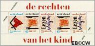 Nederland NL 1438  1989 Rechten Kind  cent  Gestempeld