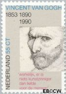 Nederland NL 1442  1990 Gogh, Vincent van 55 cent  Gestempeld