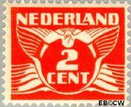 Nederland NL 145  1924 Vliegende Duif 2 cent  Gestempeld