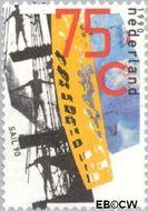 Nederland NL 1454  1990 Sail '90 75 cent  Gestempeld