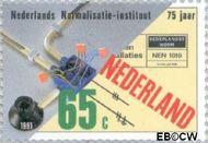 Nederland NL 1473  1991 Ned. Normalisatie Instituut 65 cent  Gestempeld