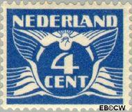 Nederland NL 148  1924 Vliegende Duif 4 cent  Ongebruikt