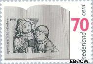 Nederland NL 1481  1991 Bibliotheken 70 cent  Postfris