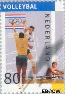 Nederland NL 1517a  1992 Olympische Spelen- Albertville 80 cent  Postfris