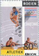 Nederland NL 1517b  1992 Olympische Spelen- Albertville 80 cent  Gestempeld