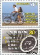 Nederland NL 1544#1545  1993 RAI  cent  Gestempeld