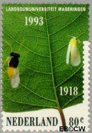 Nederland NL 1550  1993 Landbouwuniversiteit 80 cent  Gestempeld