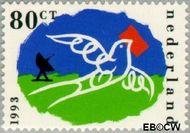Nederland NL 1574  1993 PTT als informatietransporteur 80 cent  Gestempeld