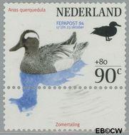 Nederland NL 1600a  1994 Postzegeltentoonstelling Fepapost 90 cent  Postfris