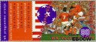 Nederland NL 1614  1994 WK Voetbal- U.S.A. 80 cent  Gestempeld