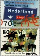 Nederland NL 1616#1617  1994 ANWB en ruiterspelen  cent  Gestempeld