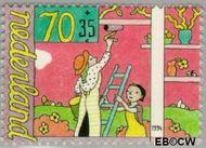 Nederland NL 1624  1994 Spelende kinderen 70+35 cent  Gestempeld