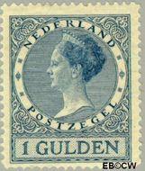 Nederland NL 163  1926 Koningin Wilhelmina- Type 'Veth' 100 cent  Gestempeld