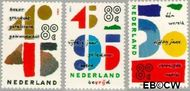 Nederland NL 1643#1645  1995 Jubilea  cent  Gestempeld