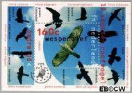 Nederland NL 1652  1995 Roofvogels  cent  Gestempeld