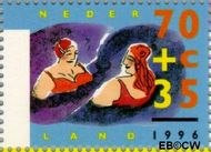 Nederland NL 1673  1996 Ouderen 70+35 cent  Gestempeld