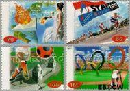 Nederland NL 1683#1686  1996 Sport  cent  Gestempeld