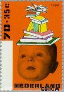 Nederland NL 1698  1996 Kind en boeken 70+35 cent  Postfris