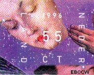 Nederland NL 1704  1996 Kerstengelen 55 cent  Postfris