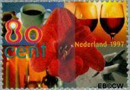 Nederland NL 1720  1997 Verjaardag (bloem) 80 cent  Gestempeld