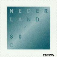 Nederland NL 1746B  2000 Rouwzegel zelfklevend 80 cent  Gestempeld