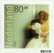 Nederland NL 1756  1998 Huwelijk 80 cent  Gestempeld
