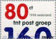 Nederland NL 1768  1998 Splitsing tnt postgroep-kpn nv 80 cent  Gestempeld