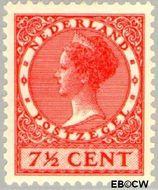 Nederland NL 180  1929 Koningin Wilhelmina- Type 'Veth' 7½ cent  Gestempeld