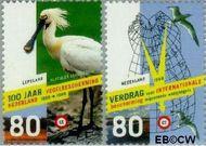Nederland NL 1811#1812  1999 Vogelbescherming  cent  Gestempeld