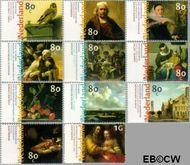 Nederland NL 1826#1836  1999 Nederlandse kunst 17e eeuw  cent  Gestempeld