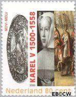 Nederland NL 1877a  2000 Keizer Karel V 80 cent  Gestempeld