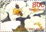 Nederland NL 1956  2001 Vijf keer hart voor de natuur 80 cent  Gestempeld