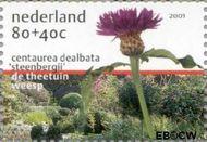 Nederland NL 1973e  2001 Tuinen in Nederland 80+40 cent  Gestempeld