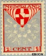 Nederland NL 199  1926 Provinciewapens 2+2 cent  Gestempeld
