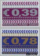 Nederland NL 2044#2045  2002 Zakenzegels  cent  Gestempeld