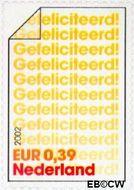 Nederland NL 2052  2002 Felicitatie- zegels 39 cent  Gestempeld