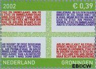 Nederland NL 2070  2002 Provincie- zegel Groningen 39 cent  Gestempeld