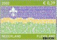 Nederland NL 2076  2002 Provincie- zegel Flevoland 39 cent  Postfris