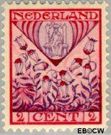 Nederland NL 208  1927 Provinciewapens 2+2 cent  Gestempeld