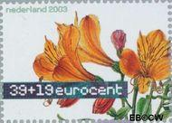 Nederland NL 2164  2003 Aquarellen van bloemen 39+19 cent  Gestempeld