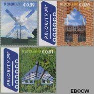 Nederland NL 2319#2321  2005 Voor uw post  cent  Gestempeld