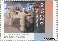 Nederland NL 2328  2005 Kunst 39 cent  Gestempeld