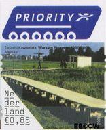 Nederland NL 2409  2006 5 voor buiten Europa 85 cent  Gestempeld